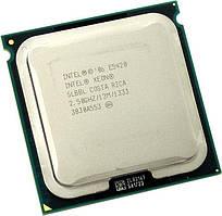Процессор Intel Xeon E5420 12 МБ кэш-памяти, тактовая частота 2,50 ГГц, частота системной шины 1333 МГц