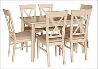 Стол обеденный ЛЕКС 120(+40) латтэ
