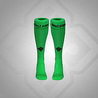 Гетры BestTeam Club Plus SS-20214 (зелёные)