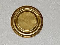 Крышка закаточная твист-офф размер 53 мм золото, фото 1