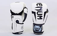 Перчатки боксерские PU на липучке VENUM BO-5698-W