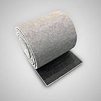 Звукоизоляционный материал для звукоизоляция помещений (стен,потолки). Рулон 10м. Серый.