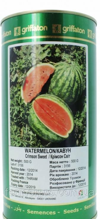 Семена арбуза Кримсон Свит 0,5 кг Griffaton