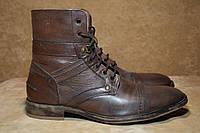 Zara Man ботинки кожаные мужские. Румыния. Оригинал. 41 - 42 р.
