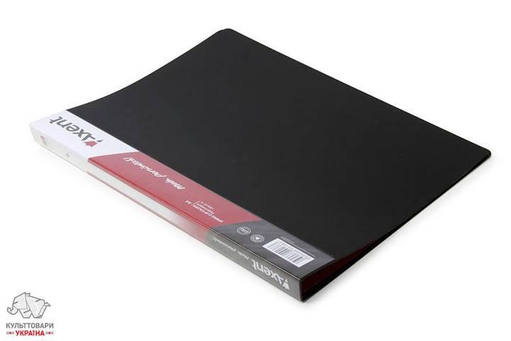 Папка-скоросшиватель Axent А4 Clip A пластик черный Арт.1304-01-А