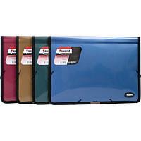 Папка-картотека на резинке Axent 2 отделения  А4 пластик цвет ассорти Арт.1503-40 02496