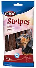 Лакомство Stripes с говядиной для собак