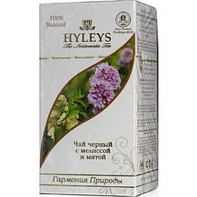 Чай черный цейлонский Hyleys Гармония природы с мелиссой и мятой пакетированный 25х1,5 г