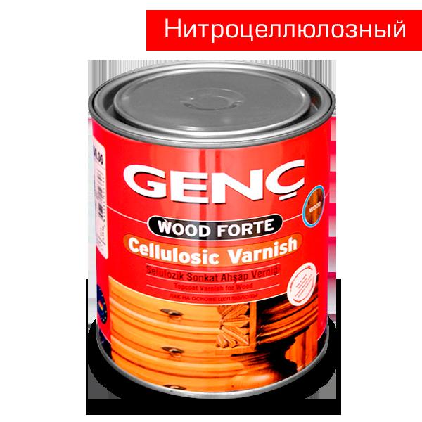 Нитроцеллюлозный лак шелковисто-матовый Cellulosic Varnish. 3 кг