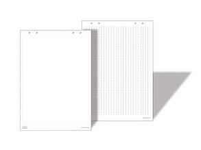Бумага для флипчарта АВС 90х62 см 20 листов клетка Арт. АВС000002