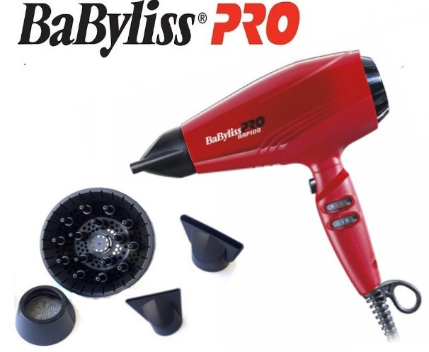 Фен для волос Babyliss PRO Rapido BAB7000IRE