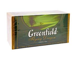 Чай зеленый пакетированный Greenfield Flying Dragon 25 пак х 2 г