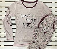 Женский комплект со штанами Bella Secret размер S,M,L,XL