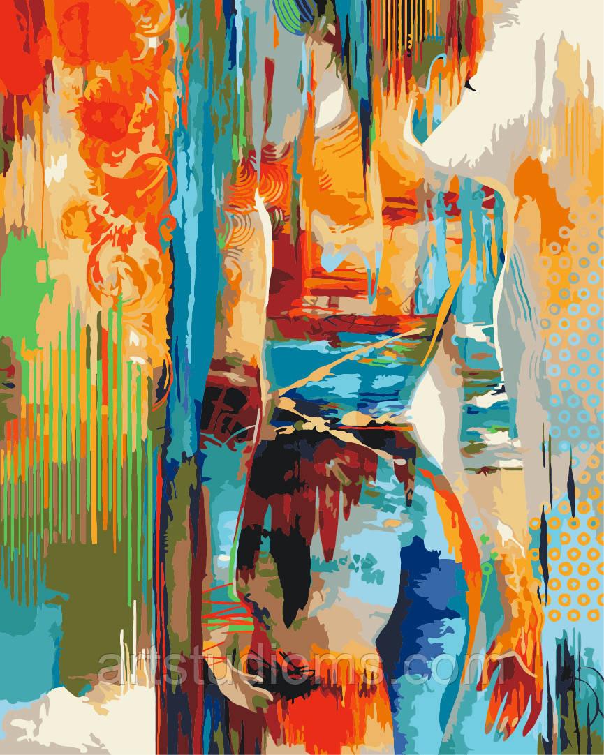 """Картины по номерам """"Силуэт"""" [40х50см, С Коробкой] - Интернет магазин Наборов для творчества и Товаров для Рукоделия - ArtStudioMS.com в Павлограде"""