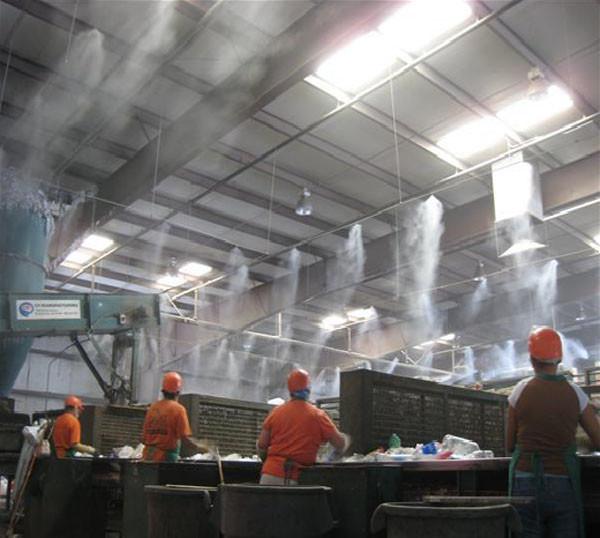 туманообразование для устранения неприятных запахов