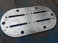 Плита клапанная голая без начинки компрессора СО-7Б