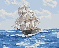 """Картина раскраска по номерам """"Ветер свободы"""" набор для рисования"""