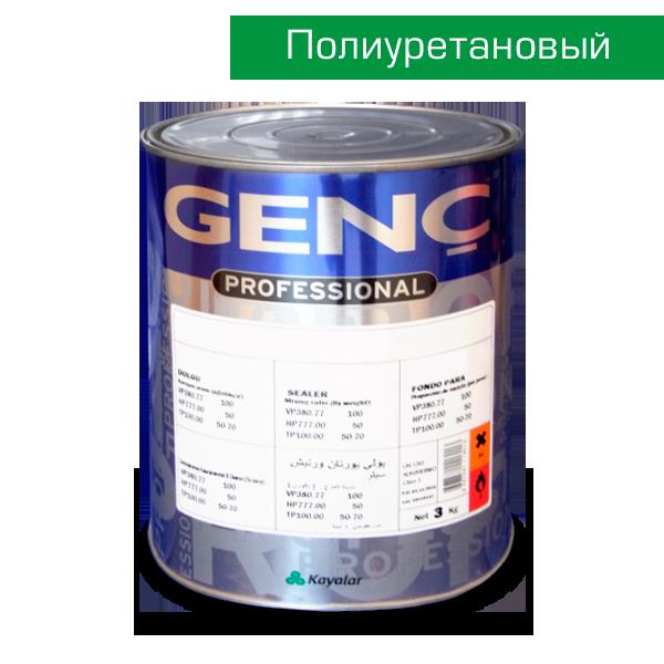 Полиуретановый лак шелковисто-матовый VP500. GL40. 3 кг