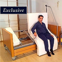Многофункциональная реабилитационная кровать с поворотным ложем и функцией Homecare Bed with Rotating Chair
