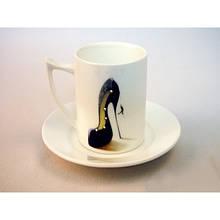 Набор кофейный Lefard Туфелька /чашка+блюдце/ в подарочной упаковке Арт. 86-1490