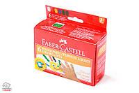 Пальчиковые краски Faber-Castell 6 цветов 25 мл Арт. 160006