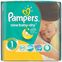 "Подгузники ""Pampers new baby"" 1 (2-5 кг) 27 шт."