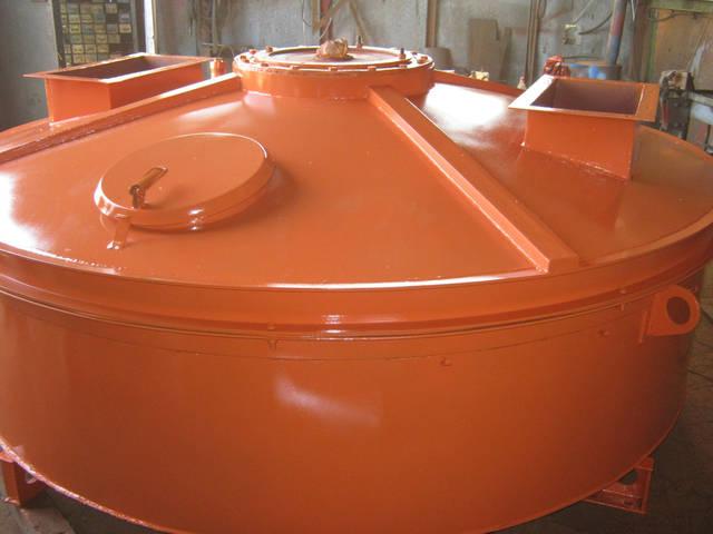 Сборка, покраска бетоносмесителя 1