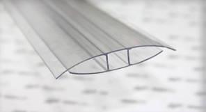 НР — профіль з'єднуючий  4 мм довжина 6 м