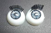 Глазки с  ресничками
