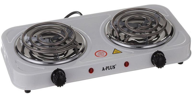 Плита электрическая на 2 конфорки спираль настольная (2103)