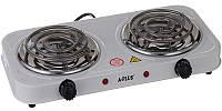 Плита электрическая на 2 конфорки спираль настольная (2103), фото 1