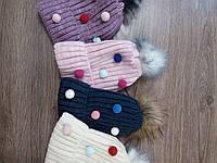 Модные детские шапки для девочки