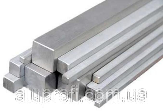 Квадрат алюминиевый 50х50мм АМц