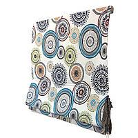 Римская штора в сборе с тканью под заказ 80/160
