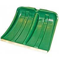 Лопата для уборки снега Лемира пластмассовая с мет. окантовкой б/держака размер 440х390 мм