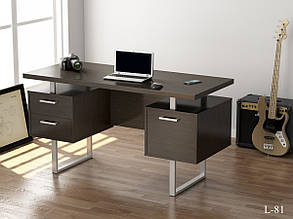 Стол письменный в стиле лофт Лофт L-81 Loft Design