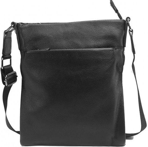 993d281cfa6e Кожаная мужская сумка-мессенджер Tiding Bag, A25-8850A черный ...
