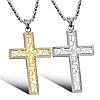 """Парные кулоны """"Хранители веры II"""" в виде крестиков"""