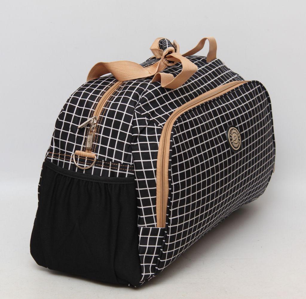 45d53f695ed3 Дорожная женская сумка в клеточку. Стильный дизайн. Качественный принт.  Доступная цена.