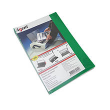 Обложка для переплета Agent А4 180-200 мкм пластик прозрачно-зеленый Арт. 1510283
