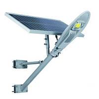 Автономна сонячна освітлювальна система LED-NGS-26 24W 6500K 2400LM IP65
