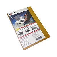 Обложка для переплета Agent А4 180-200 мкм пластик прозрачно-желтый Арт. 1510477