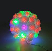 Светодиодный Мульти Шар Светильник Праздничный Цветочек 10 см