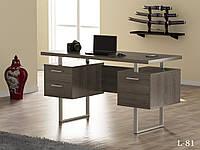 Стол письменный в стиле лофт  L-81 Loft Design Дуб Палена