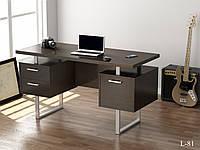 Стол письменный в стиле лофт  L-81 Loft Design Венге Корсика