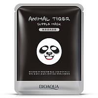 Смягчающая тканевая маска с принтом Панда BIOAQUA Animal Panda Tender Mask
