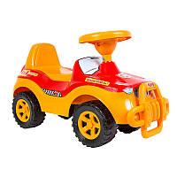 Машинка каталка Джипик 105 Орион красная