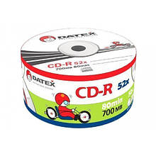Диск CD-R Datex 80 мин/700 MB 1-52х