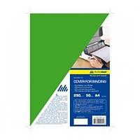 Обложка для переплета BuroMax А4 250 мкм картон глянец зеленый Арт. BM.0591-04