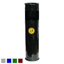 Урна Мальборо малая цвет черный Арт. 00041096